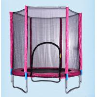 Wholesale Outdoor Park Small Round Fitness Trampoline with Safety Net/ Gymnastic Commerical Use Trampoline Made in China from china suppliers