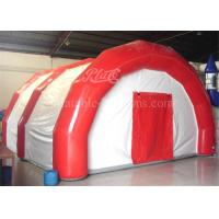 China PVC Tarpaulin Giant Inflatable Event Tent , Airtight Red Inflatable Warehouse on sale