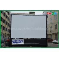 Wholesale Outdoor Inflatable Movie Screen Oxford Cloth Material WIth Frame For Projection from china suppliers