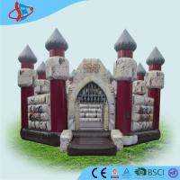 Quality PVC Tarpaulin Outdoor Inflatable Bounce House Festivals Use for sale