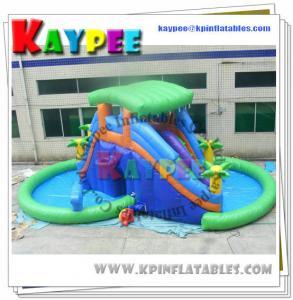 Wholesale Water part Slide Aqua slide PVC Tarpaulin slide Inflatable slide Game KSL069 from china suppliers