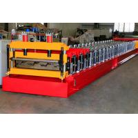 Wholesale Floor Deck Plate Roof Roll Forming Machine For Building Steel Sheet from china suppliers