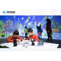 China Magic Painting Interactive Touch Screen Projector Multiplayer Available Infrared Sensing Radar on sale