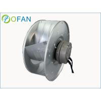 Buy cheap High Pressure Centrifugal Backward Curved Fan / EC Industrial Fan Blower from wholesalers
