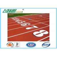 Wholesale Polyurethane Running Athletic Track Synthetic Running Track Flooring Outdoor Sport from china suppliers