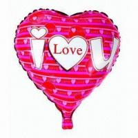 Wholesale 18-inch Heart Mylar Balloon for Parties, Wedding, Advertising, Promotions or Gifts Used from china suppliers