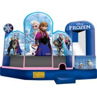 Buy cheap 13'W x 13'L (+ Step) x 13'H Frozen Bounce House from wholesalers