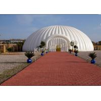 China Giant Diameter 8m Dome Inflatable Event Tent , Party Inflatable Igloo Tent on sale