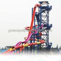 Wholesale Indoor Single Water Park Equipment / Water Games With Big Water Slides Safety from china suppliers