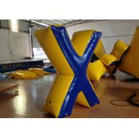 Wholesale Commercial Inflatable Paintball Bunkers 0.6 X 1.8 (H) m Fire Resistance Customized from china suppliers