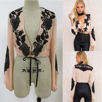 Wholesale New fashion women tops puffed long sleeve ladies blouse designs from china suppliers