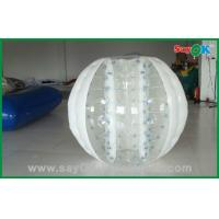 Wholesale Hot Selling Bubble 0.6mm PVC/TPU 2.3x1.6m Inflatable Body Bumper Ball For Game from china suppliers