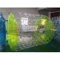 China Commercial PVC Transparent Inflatable Pool Water Roller Ball SCT EN71 on sale