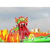 Wholesale Giant Kids Inflatable Water Park For Hotel Swimming Pool , Beach Party Inflatables from china suppliers