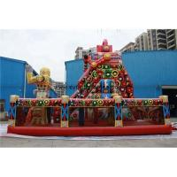 Quality Commercial Inflatable Dry Slide Red Inflatable Slip Slide Adult Inflatable Slide for sale