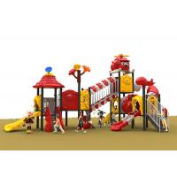 Buy cheap Stainless Steel Plastic Outside Play Equipment For Toddler , Galvanized Stair from wholesalers