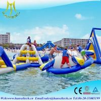 Wholesale Hansel terrfic PVC inflatable water jumping castles for sale from china suppliers