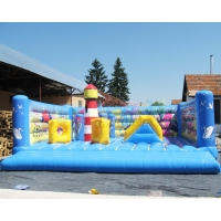 Wholesale 5x4.5x4.5 meter Children Inflatable Bounce Houses For Backyard from china suppliers