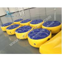 Wholesale Inflatable water balance pillow Air tight platform,inflatable water game from china suppliers