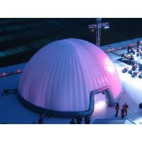 UV - Resistance Lighting Dome Party Inflatable Tent For Stage Cover 30m