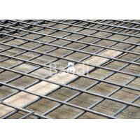 China Thread Bar Steel Reinforcing Wire Mesh Welded 200 X 200 Mm For Tunnel Building on sale