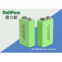 Wholesale Reliability 9v Battery Rechargeable , Low Discharge High Temperature Battery from china suppliers