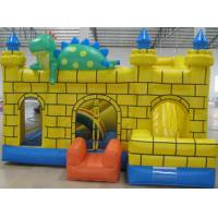 Wholesale 0.55mm PVC Tarpaulin Kids Inflatable Sports Games , Moonwalk Commercial Bouncy Castle from china suppliers