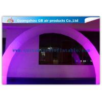 China Outdoor Arch Shape Inflatable Lighting Decoration Stage Lighting For Wedding / Party on sale