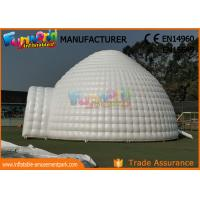 Wholesale Lawn Dome Yurt Inflatable Party Tent / Large Blow Up Igloo Tent from china suppliers