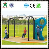 Wholesale Kids Playground Slide with Climbing Wall for Nursery School from china suppliers