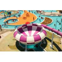 Wholesale Fiberglass Material Bowl Water Slide Commercial Playground Equipment 15kW Power from china suppliers