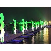 Wholesale Inflatable Wave Led Lighting Color Changing Led For Dark Road from china suppliers