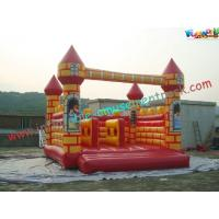 China Full Printing Rent Inflatable Bouncy castles , inflatable jumping castles 5L x 5W x 4H Meter on sale