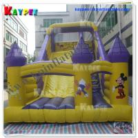Wholesale Disney Slide Inflatable characters slide PVC fun slide Inflatable slide Game KSL076 from china suppliers