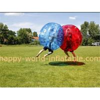 Wholesale human sized soccer bubble ball , giant bubble ball , bubble ball soccer , plastic bubble from china suppliers