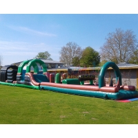 Wholesale 13.2X4.7X3M Inflatables Obstacle Course Kids Slide Bounce House from china suppliers