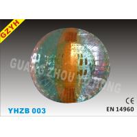 Wholesale Commercial 0.9mm PVC Human Sized Inflatable Zorb Ball YHZB 003 from china suppliers