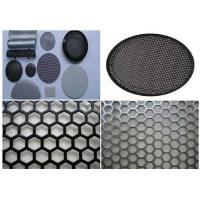 China Durable Round Hole Mesh 5mm Wire  , Aluminum Sheet Metal With Round Holes on sale