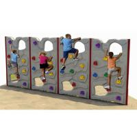 Wholesale Nursery Plastic Climbing Frames , Outdoor Rock Climbing Wall ZK109 - 6 from china suppliers