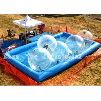 China Summer Water Walking Balls Inflatable Above Ground Pools For Water Games on sale