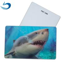 Wholesale Fashion Eco - Friendly 3D Plastic Cards / Lenticular Postcard Printing from china suppliers