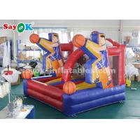 Wholesale PVC Tarpaulin Basketball Hoop Shoot Inflatable Game For Playing Center from china suppliers