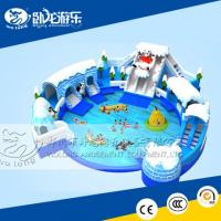 Buy cheap 2017 Inflatable water park for kids and adults from wholesalers