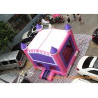 Wholesale Pink 4.3 * 4.3m Inflatable Air Bouncer / Outdoor Sport Kids Jumping Castle from china suppliers