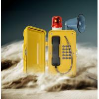 Wholesale Loud Speaker Dust Proof Watertight Telephone With Warning Lamp For Noisy Industry from china suppliers
