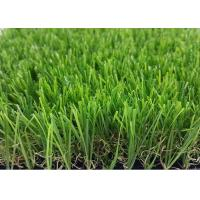 High Temperature Resistant Artificial Grass Landscaping / Synthetic Grass Lawn