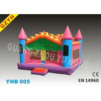Wholesale Mini Kids Inflatable Jumpers Bouncers Castle YHB-005 with Anti - UV 0.55mm PVC Tarpaulin from china suppliers