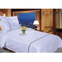 Quality Double Size And 120GSM 250TC With Cotton Hotel Style Bedding Sets For 4 Star for sale