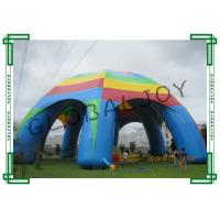Quality Exhibition Large Inflatable Spider Dome Tent Durable with 8 Legs for sale