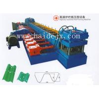 Buy cheap Hydraulic Anti Crash Barrier Highway Guardrail Roll Forming Machine with 18 rows from wholesalers